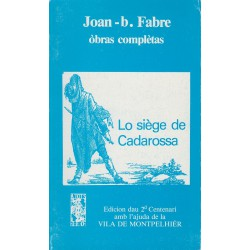 Lo siège de Cadarossa - Joan-Batista Fabre - ATS 79