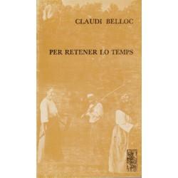 Per retener lo temps - Claudi Belloc - ATS 73