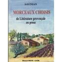Morceaux choisis de littérature provençale en prose - Savinian