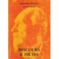 Discours e dicho (broché petit format) - prouvençau - Frédéric Mistral