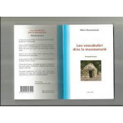 Lou voucabulàri dins la massounarié - Pèire Pessamessa / Pierre Pessemesse
