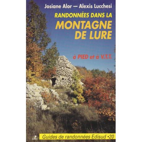 Randonnées dans la montagne de Lure - Josiane Alor - Alexis Lucchesi