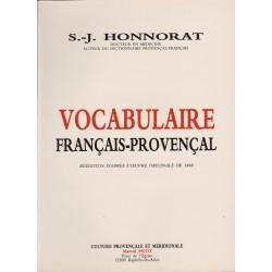 Vocabulaire français-provençal – Simon-Jude Honnorat