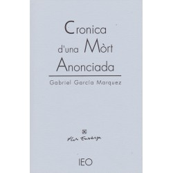 Cronica d'una Mòrt Anonciada - Gabriel García Marquez