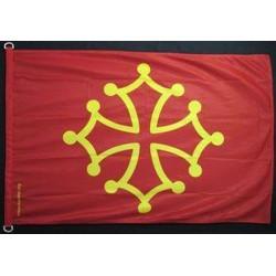 Drapeau Occitan / Bandiera occitana 70x100 cm