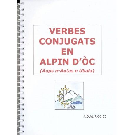 Verbes conjugats en Alpin d'Oc (Aups n-Autas e Ubaia) - Andrieu Faure