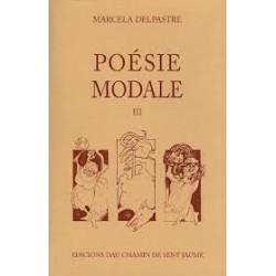 Poésie modale 1 - Marcela Delpastre