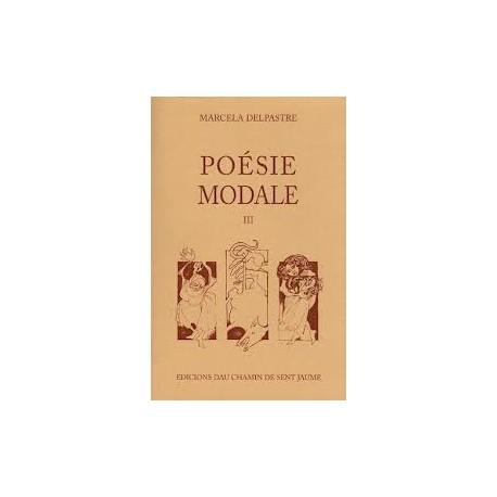 Poésie modale I - Marcela Delpastre