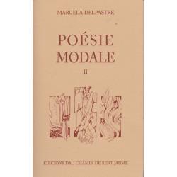 Poésie modale II - Marcela Delpastre