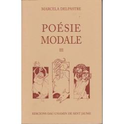 Poésie modale III - Marcela Delpastre