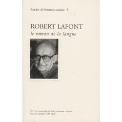Robert Lafont le roman de la langue - Collectif