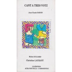 Cant a tres votz - Jean-Claude Babois