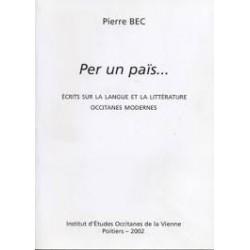 Per un païs... - Pierre Bec