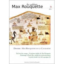 Les cahiers Max Rouquette 9 (2015) - Association Amistats Max Rouquette