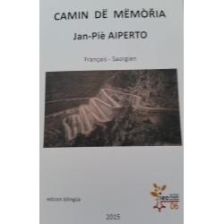 Camin dë mëmòria (Livre + CD) - Jan-Piè Aiperto