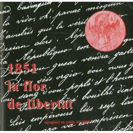 1851, la flor de libertat - Daniel Daumàs (CD)