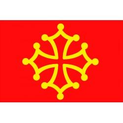 Carte postale - Bandièra d'Occitània