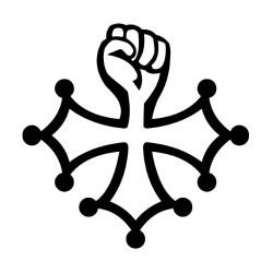 Tatouage éphémère Croix au poing