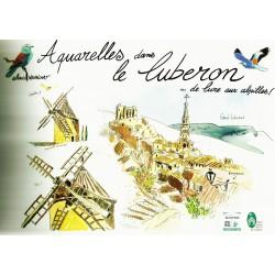 Aquarelles dans le Luberon - Alexis Nouailhat - Couverture
