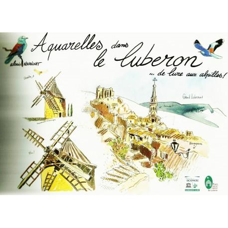 Aquarelles dans le Luberon - Alexis Nouailhat