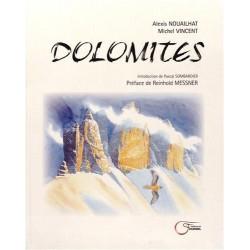 Dolomites - Alexis Nouailhat et Michel Vincent - Couverture
