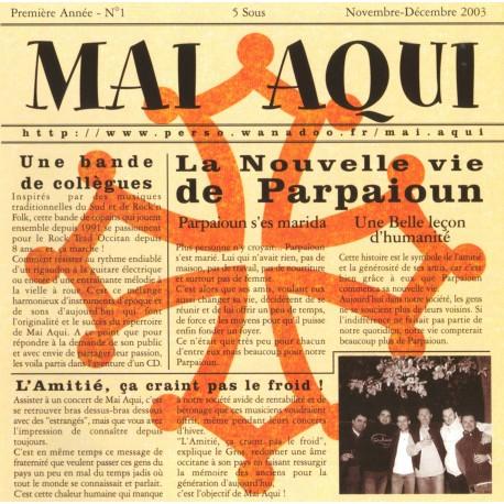 Mai aqui - La Nouvelle Vie de Parpaioun - CD occitan