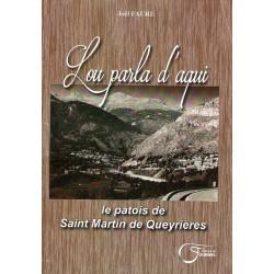 Lou parla d'aqui - Joël Faure - Le patois de Saint-Martin de Queyrières - Couverture
