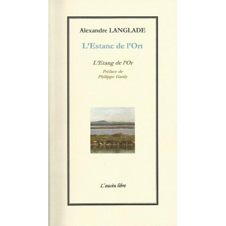 L'Estanc de l'Ort - Alexandre Langlade - Couverture