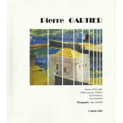 Pierre Gartier - Une vie de peintre - Couverture
