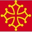 Stickers Occitan Cross for car