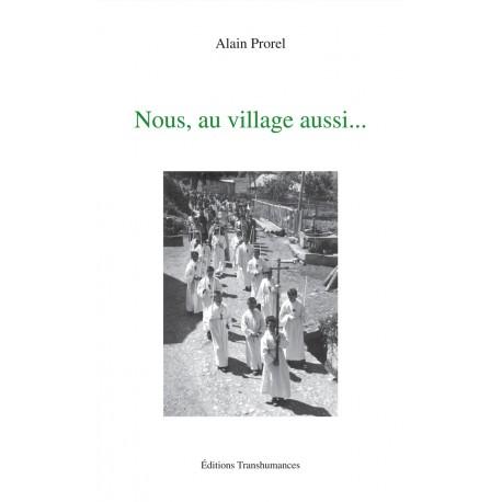 Nous, au village aussi - Prorel Alain - Couverture