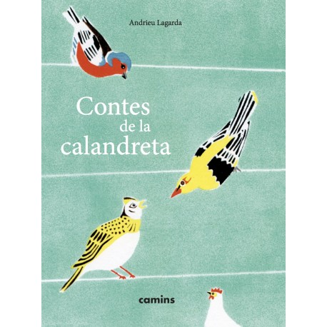 Contes de la Calendreta - Andrieu Lagarda - Couverture Letras d'òc (Camins)