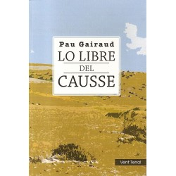 Lo Libre del Causse - Pau Gairaud - Cover of novel