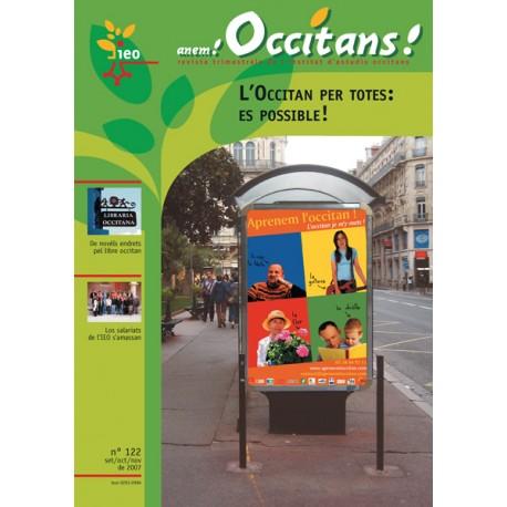Anem Occitans ! - Abonnement (1 an) - Couverture (revue de l'IEO)