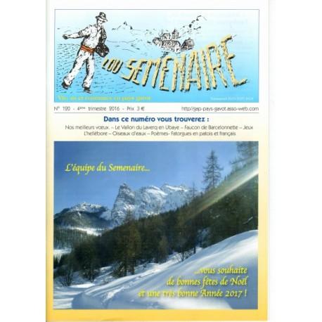 Lou Semenaire - Abonnement (1 an) - Le Pays Gavot