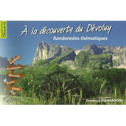 À la découverte du Dévoluy - Emmanuel Pierantoni - Couverture