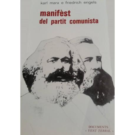 Manifèst del partit comunista - Karl Marx, Friedrich Engels - Occitan de Jòrdi Blanc - Couverture