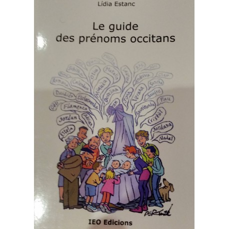Le guide des prénoms occitans - Lídia Estanc - Couverture