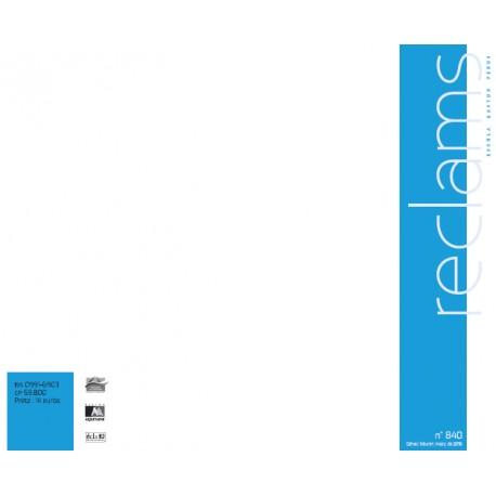 Reclams - Abonnement (1 an)