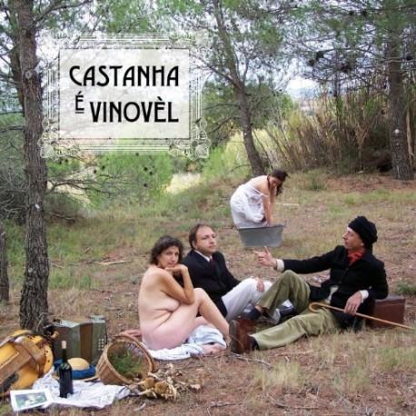 Castanha é Vinovèl - CV (1er Album CD 2009) - Cobertura