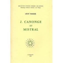J.Canonge et Mistral - Léon Teissier