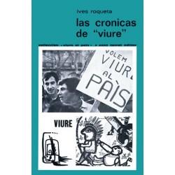 """Las cronicas de """"viure"""" - Ives Roqueta - Couverture"""
