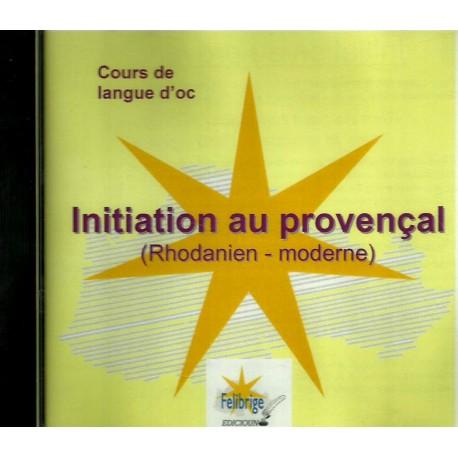 Initiation au provençal (Rhodanien - moderne) CD