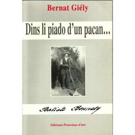 Dins li piado d'un pacan - Bernat Giély - Couverture