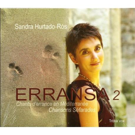 Erransa 2 chants d'errance en Méditerranée - Sandra Hurtado-Ròs