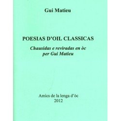 Poesias d'oïl classicas, selected and translated in òc by Gui Matieu - Cover