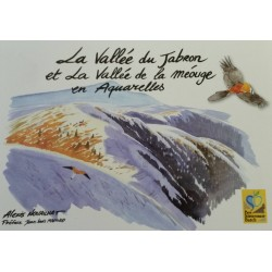 La Vallée du Jabron et la Vallée de la Méouge en Aquarelles - Alexis Nouailhat
