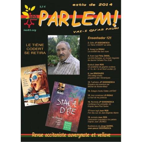 Parlem - Abonnement (1 an) - Revue Occitaniste Auvergnate et Vellave (IEO 63)
