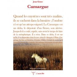 Camarga - Jean Giono - Michel Hugues - L'aucèu libre - 4en de cobertura