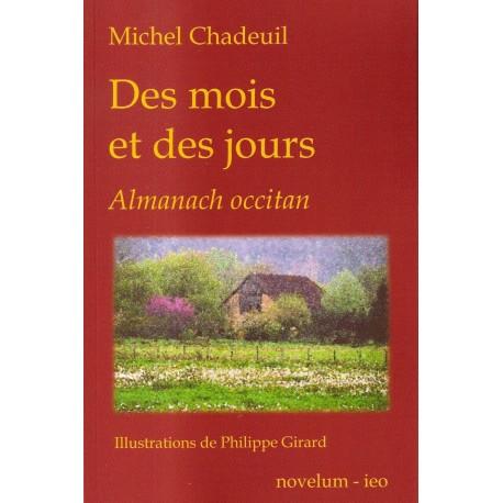 Des mois et des jours, almanach occitan - Michel Chadeuil - Couverture